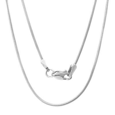 Sterling Silver Snake Chain 1mm