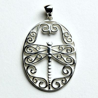 Dragonfly Pendant from the Southern Gates Pendants Collection