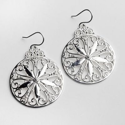 Cargo Hold Southern Gates Earrings in Sterlng Silver