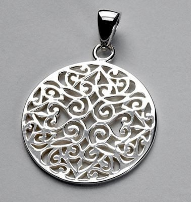 Cargo Hold Southern Gates Pendant in Sterling Silver