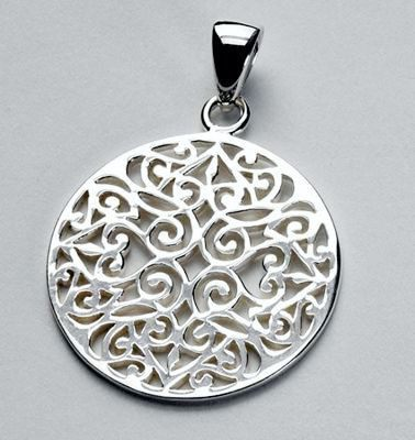 """Southern Gates"" Scroll Design Jewelry in Sterling Silver"