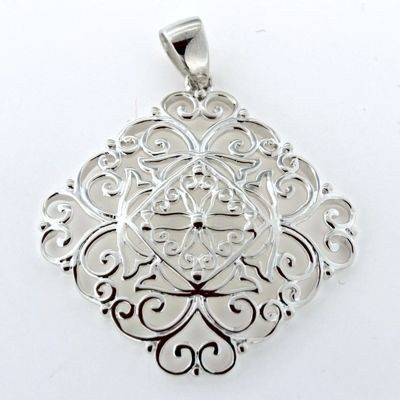 Matching Southern Gates Jewelry Collection Pendant.