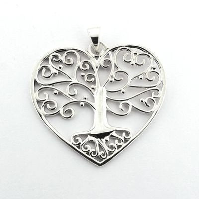 Tree of life Southern Gates Heart Pendant