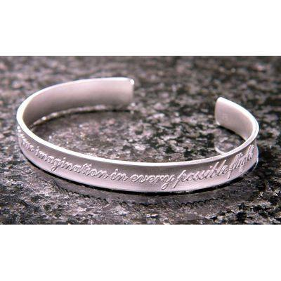 Indulge Your Imagination Sterling Silver Cuff