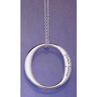 Friends Forever, Forever Friends Necklace in Sterling Silver
