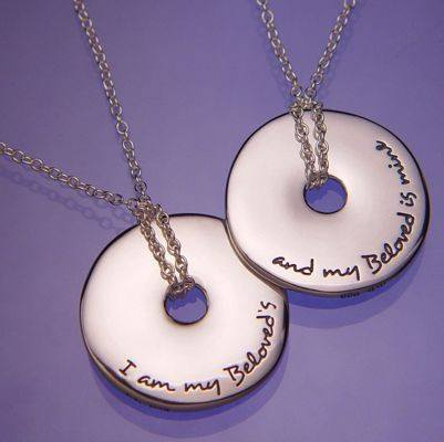 I Am My Beloved's Sterling Silver Necklace