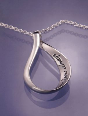 Love You Always Sterling Silver Pendant