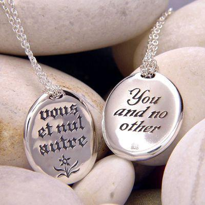 You And No Other Sterling Silver Necklace