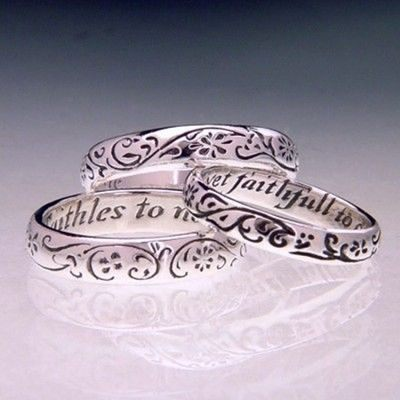 'Faithles to none, yet faithfull to one' English posie ring