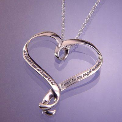 """All That I Am..."" Sterling Silver Necklace"