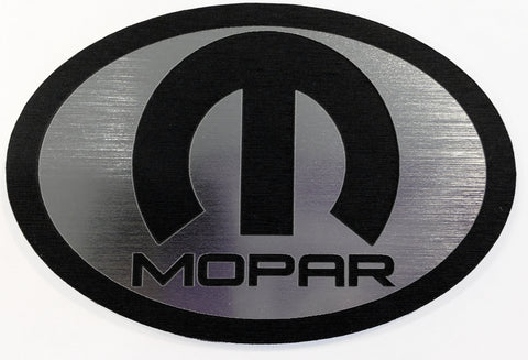 Chrysler PT Cruiser Rear Emblem Mopar Silver