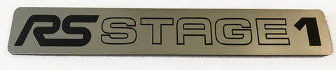 Ford Focus RS Stage 1 Stick on Emblem