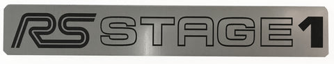 Ford Focus RS Stage 1 v2 Stick on Emblem