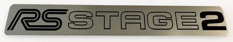 Ford Focus RS Stage 2 v2 Stick on Emblem