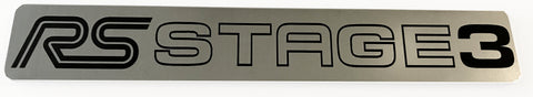 Ford Focus RS Stage 3 v2 Stick on Emblem