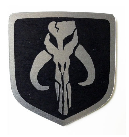 Dodge Mandalorian Steering Wheel Badge Emblem Black (choose model)