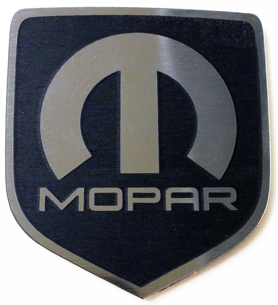 Dodge Mopar Steering Wheel Badge Emblem Black (choose model)