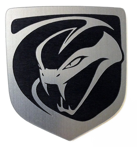Dodge Stryker Viper Front emblem silver (choose model)