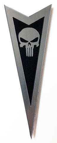 Pontiac front emblem Punisher black (choose model)