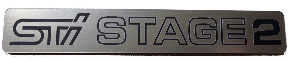 Subaru WRX STI Stage 2 Badge