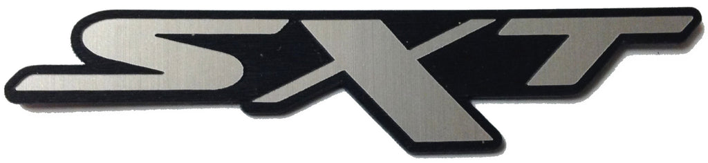 Dodge Charger Challenger Neon SXT badge Black/Silver V.1 With Hardware