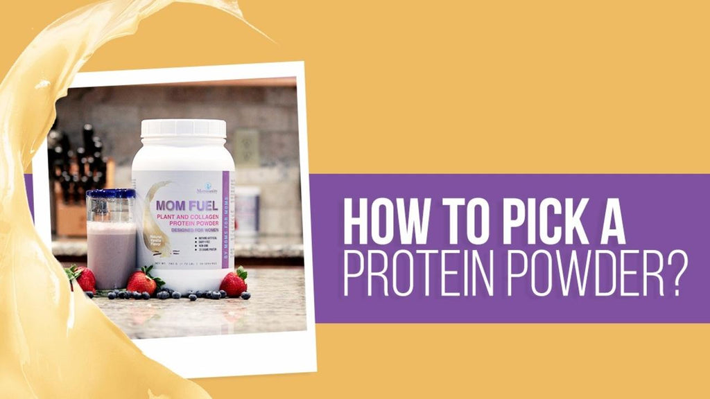 How To Pick A Protein Powder
