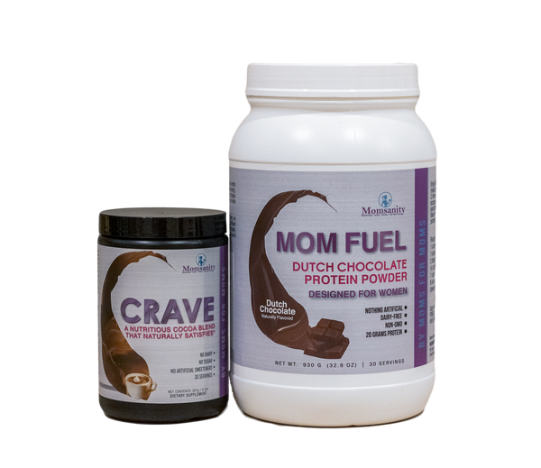 Chocolate Bundle: CRAVE and Mom Fuel