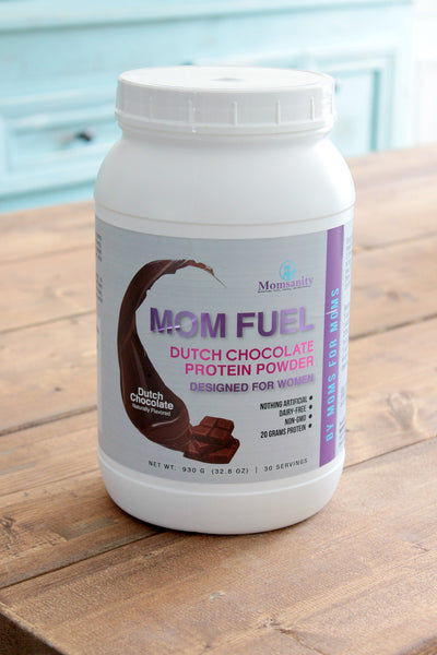 Mom Fuel Protein Powder DUTCH CHOCOLATE