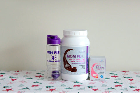 SHAKE IT UP Bundle!!  Mom Fuel (choice of flavor), Single Serving Stick Pack and Shaker Bottle Bundle and Save 25%