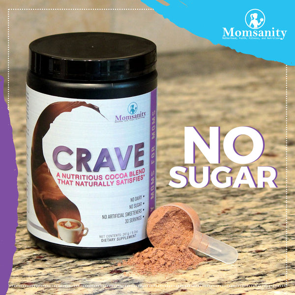 CRAVE A Nutritious Cocoa Blend that Naturally Satisfies - 30 servings