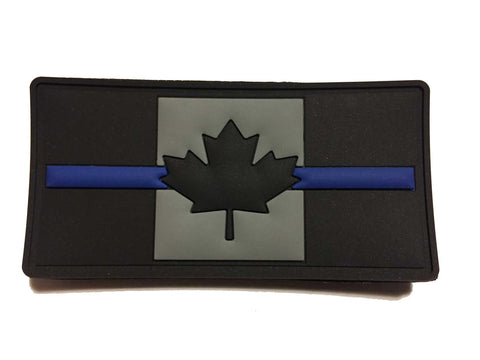 Thin Blue Line Canada Patch - PVC