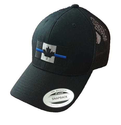 Thin Blue Line Canada - Trucker Cap - Embroidered