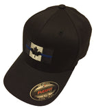 Thin Blue Line Canada - Ball Cap - Flag Centre - Flexfit