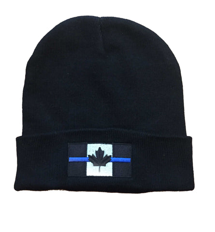 Thin Blue Line Canada - Knit Beanie