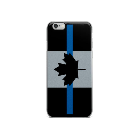 Thin Blue Line Canada - iPhone 6/6s, 6/6s Plus Case