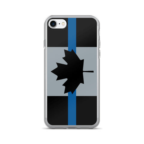 Thin Blue Line Canada - iPhone 7/7 Plus Case