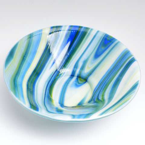Fused Glass Bowl in Fusers Reserve