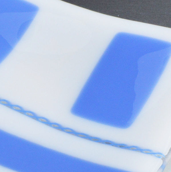 Fused Glass Large Rectangular Sushi Plate