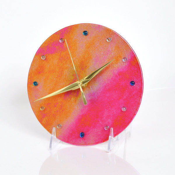 Hand Made Glass Clocks | The Glass Rainbow
