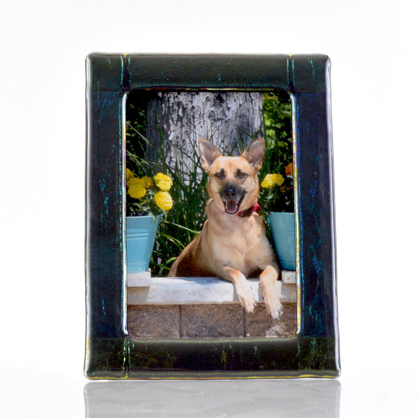 Frames - Luminescent Fused Glass 5 x 7 Picture / Photo Frame