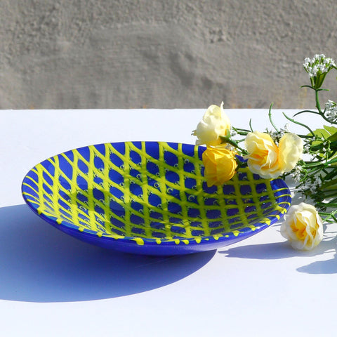 Fused Glass Decorative Fruit - Candy Bowl | Accent Piece | Interior Design