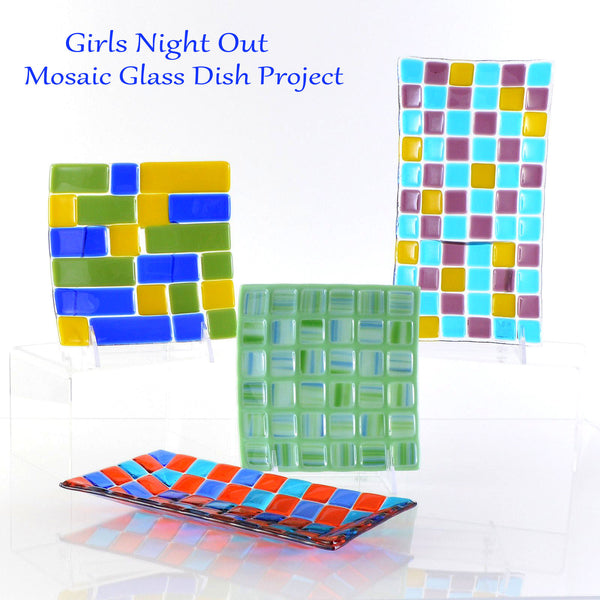 Girls Night Out -Fused Glass Mosaic Dish Project | WEDNESDAY 5/24 | 6-8 PM