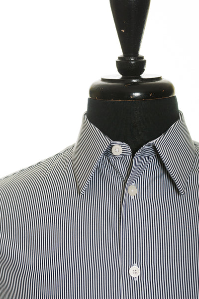 Givenchy Paris Black Striped Color Block Shirt. Luxmrkt.com Menswear Consignment Edmonton.