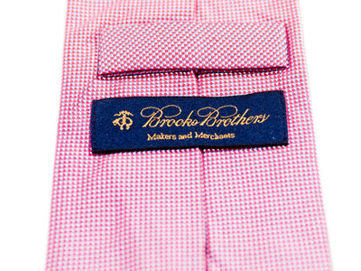 Brooks Brothers Red Check Tie