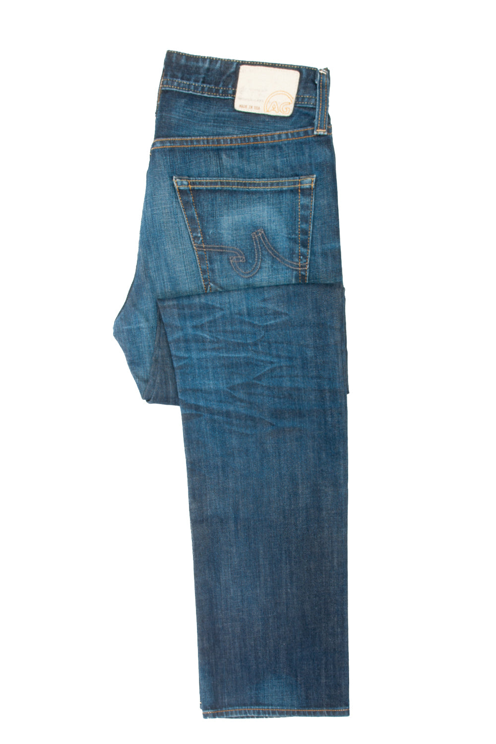 AG Adriano Goldschmied Protege Straight Leg Jeans for Luxmrkt.com Menswear Consignment Edmonton