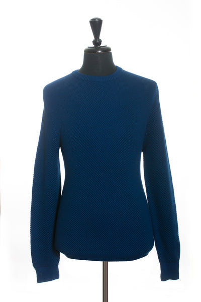 Michael Kors Bright Navy Italian Yarn Sweater