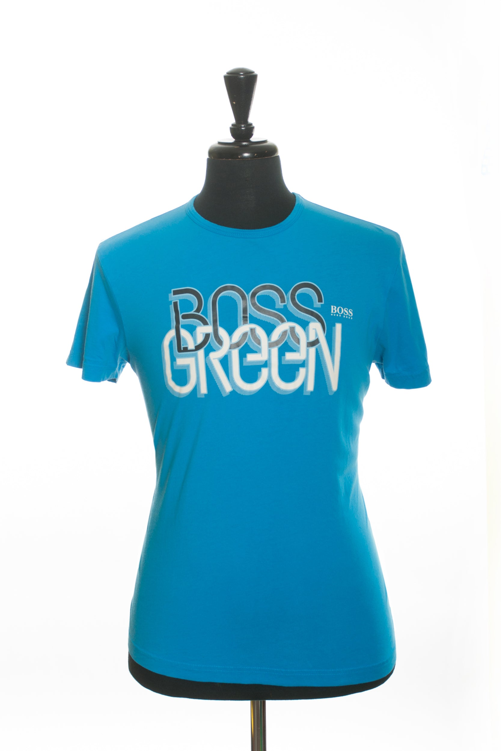 Hugo Boss Light Blue GR-Texx Graphic Print T-Shirt