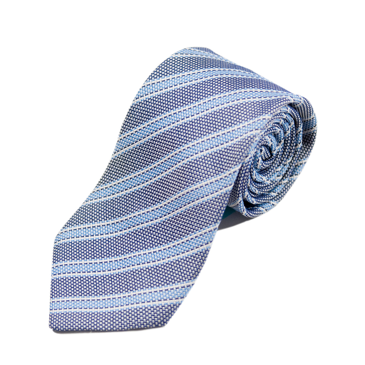 Dolce & Gabbana Grey Striped Tie