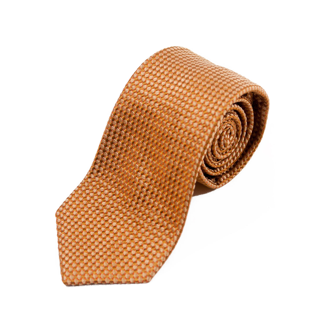 Theory Brown Geometric Tie
