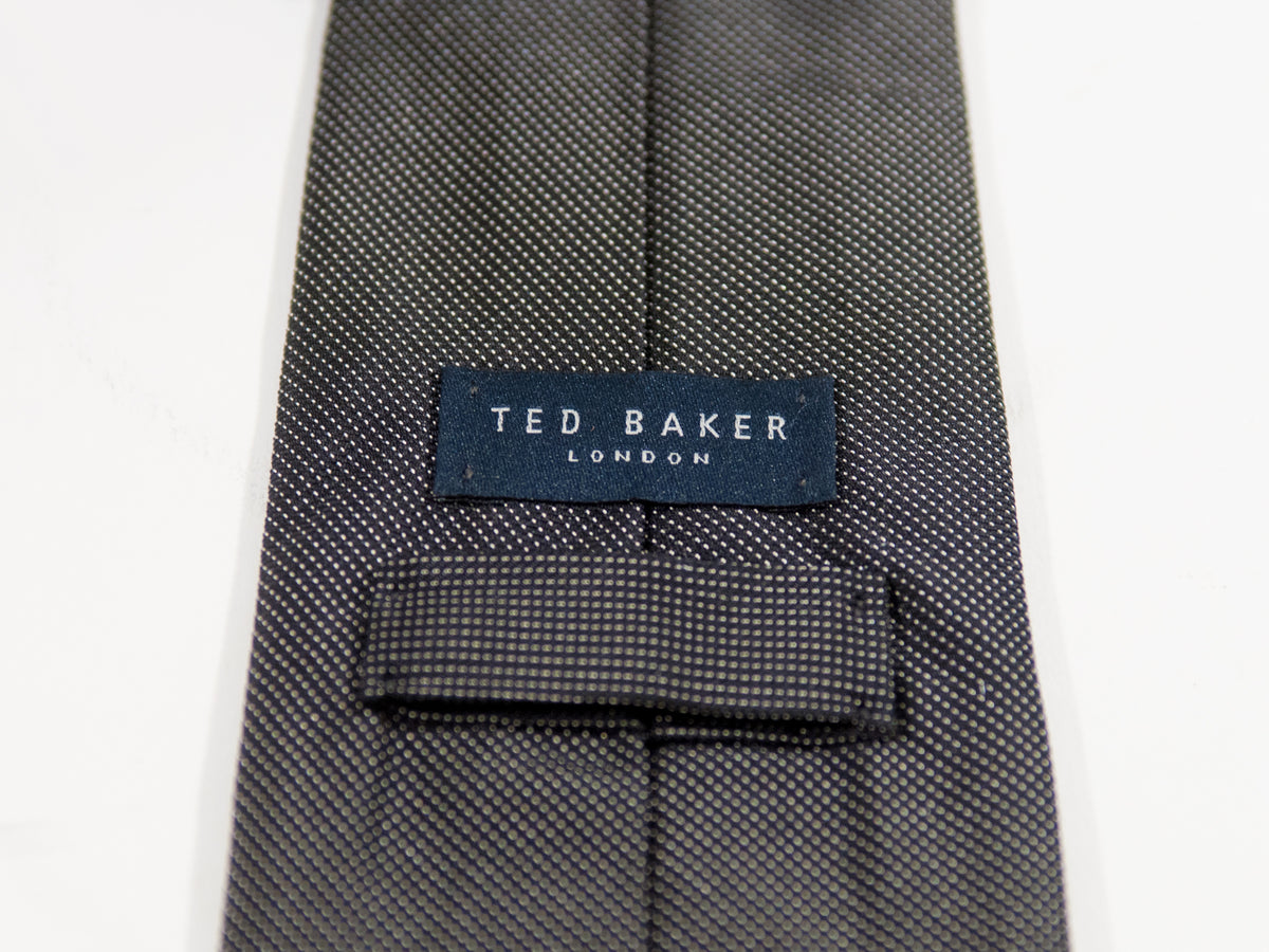 Ted Baker Grey Pencil Striped Tie
